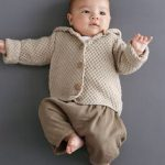 Tricot veste bébé phildar
