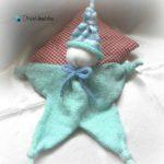 Doudou bébé a tricoter