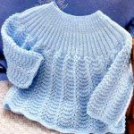 Brassière tricot bébé gratuit