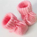 Modèle tricot chausson bébé gratuit
