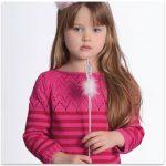 Pull fillette tricot gratuit