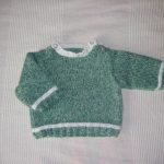 Pull bébé tricot