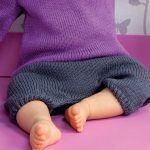 Tricot sarouel bebe