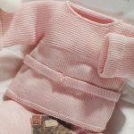 Brassière bébé laine à tricoter