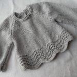 Brassière en tricot pour bébé