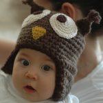 Tuto tricot bonnet bébé hibou