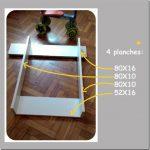 Planche table a langer