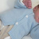 Tricoter brassiere bebe 1 mois