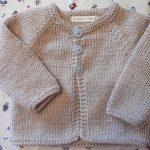 Tricot pull bebe 6 mois