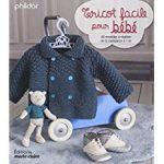 Livre tricot layette