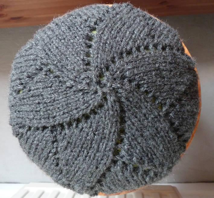 modele tricot beret gratuit