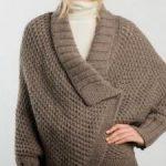 Modele tricot cape femme gratuit