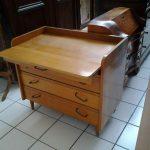 Table à langer vintage