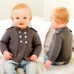 Layette bébé garçon à tricoter