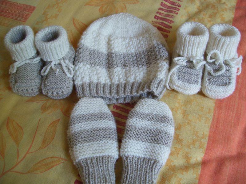 Tricot débutant bébé - Idées de tricot gratuit 4b7fec42024