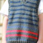 Modele debardeur tricot garcon gratuit