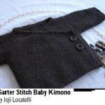 Tricot kimono bébé