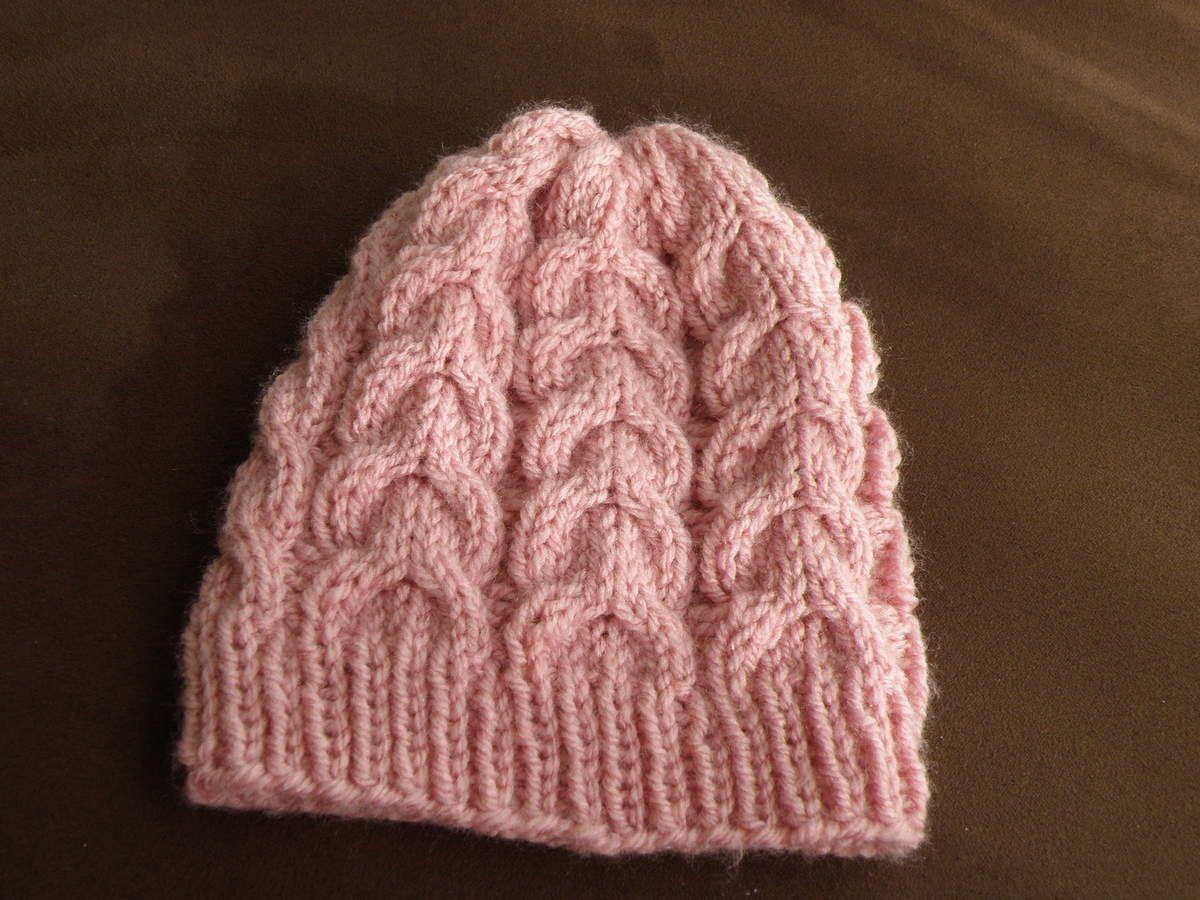 Tricoter un bonnet garcon aiguille 6