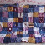 Comment tricoter un plaid patchwork