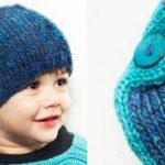 Tricoter un bonnet garcon 2 ans