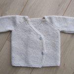 Tricot bebe kimono