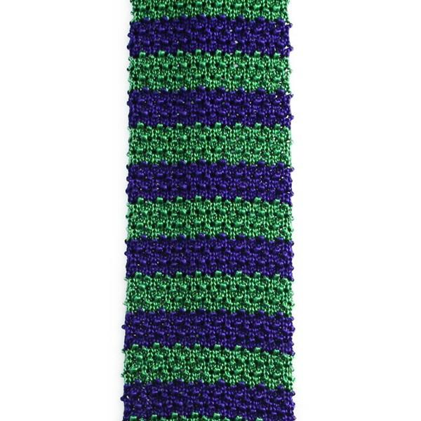 Cravate tricot point de riz