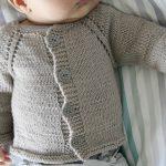 Tricoter gilet bébé 1 an