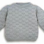 Tricoter pull bebe 6 mois