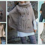 Tricoter un poncho pour fillette