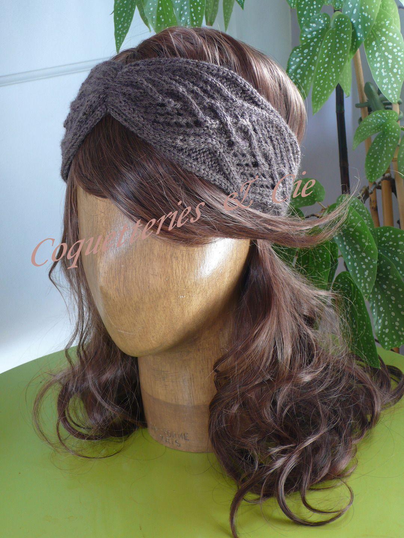 Tricoter bandeau cache oreilles