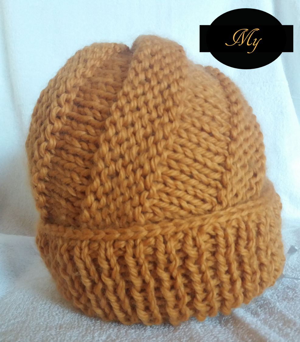 Tricoter un bonnet en spirale