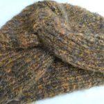 Tricoter un bonnet vintage