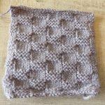 Tricoter un plaid en une fois
