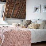 Modele pour tricoter un plaid
