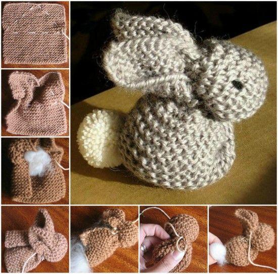 Tuto tricotin lapin