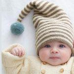 Tricoter un bonnet rigolo pour bebe