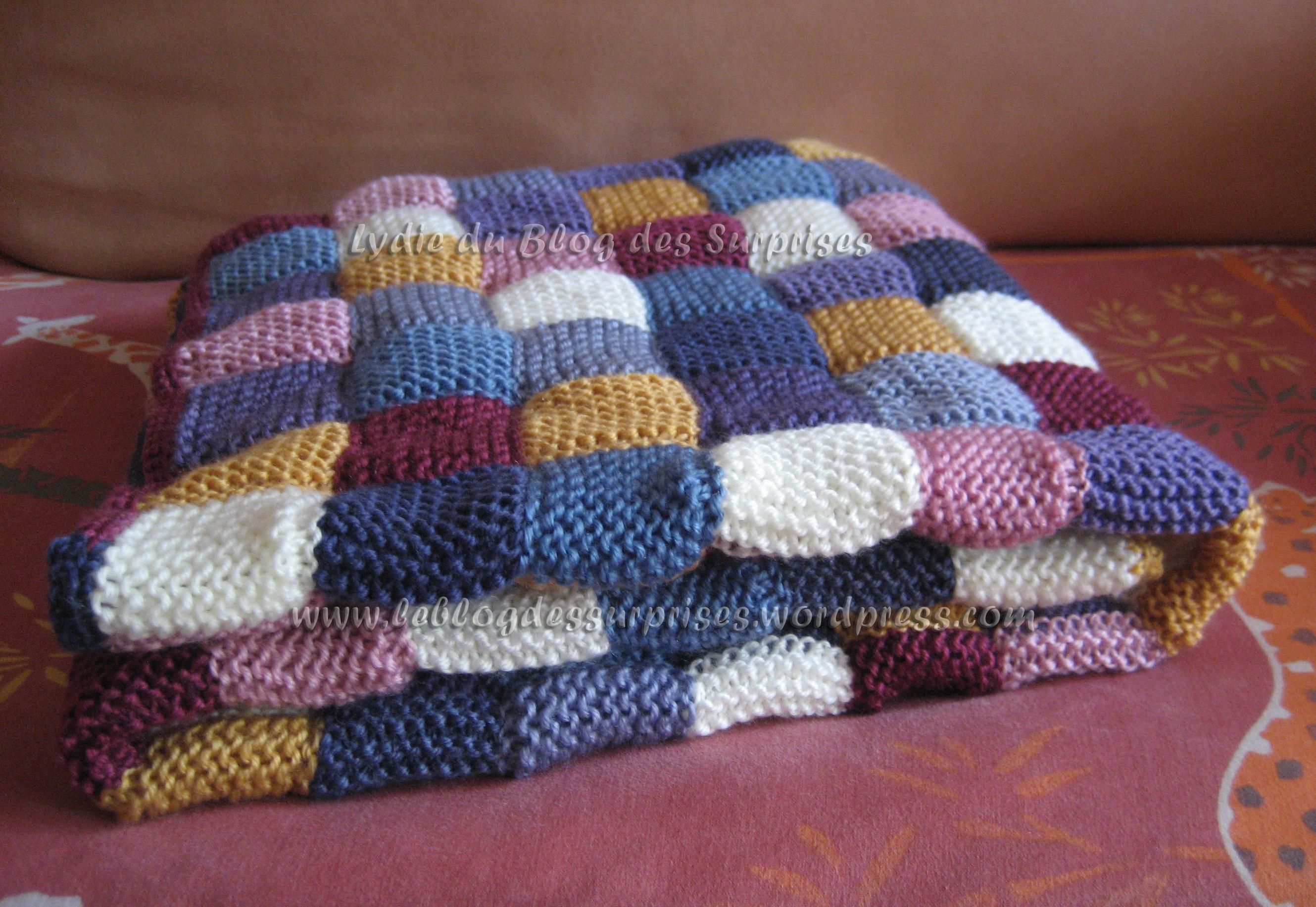 Tricoter une plaid