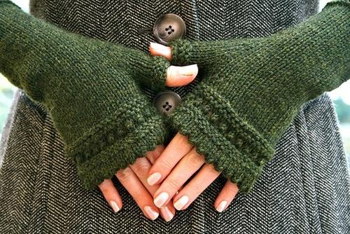 Tricoter des gants en rond