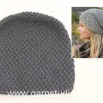Tricoter un bonnet video
