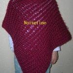 Tuto tricotin poncho