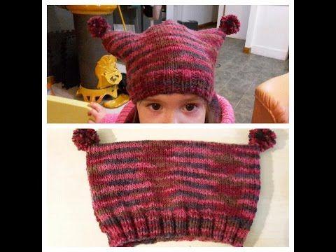 Tricoter un bonnet carré