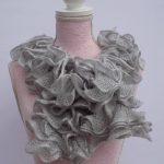 Tricoter echarpe femme