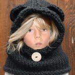 Tricoter snood bebe fille
