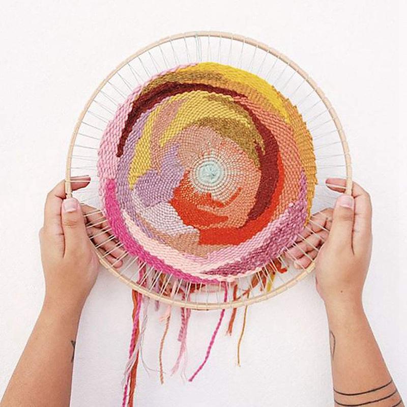 Machine a tricoter en rond