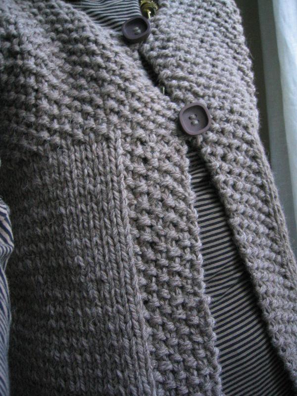 Modele tricot femme point de riz