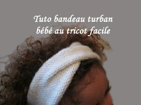 Tuto tricot headband bebe