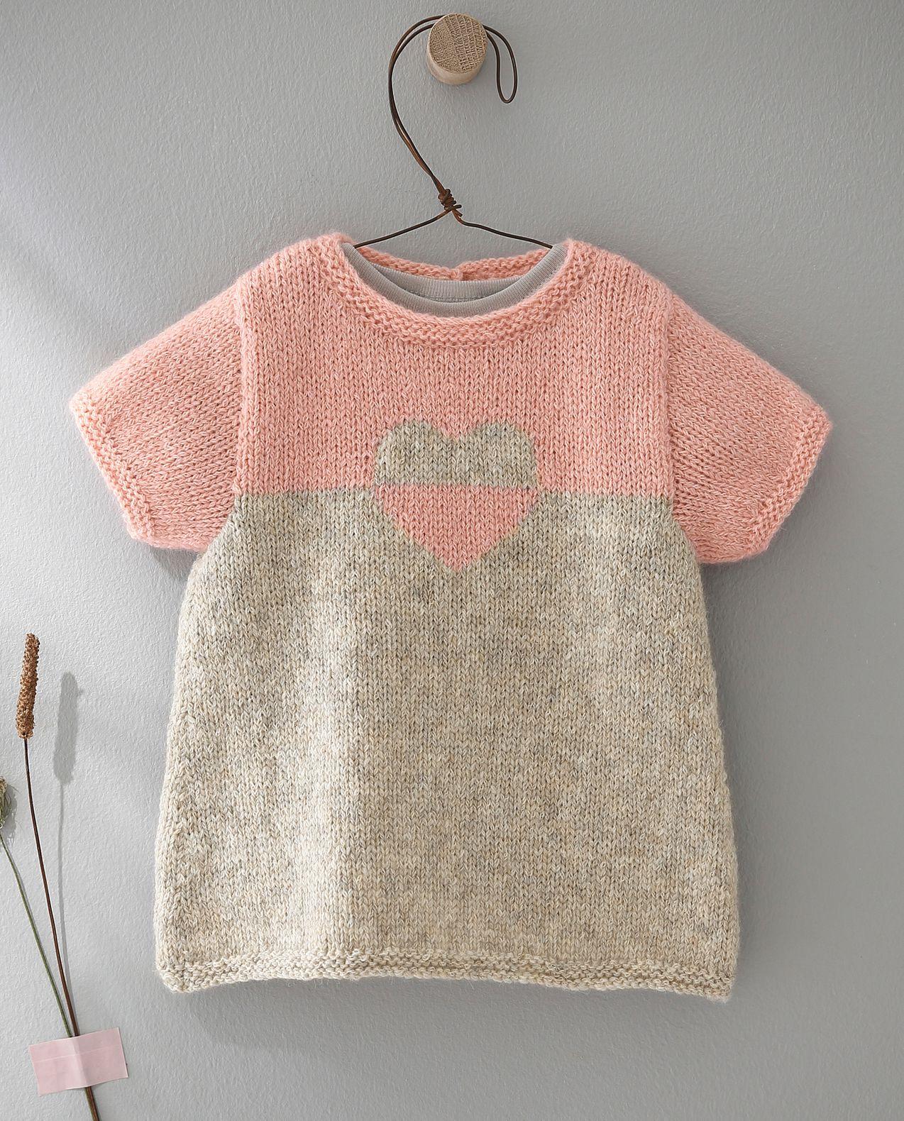 Tricot bébé robe gratuit