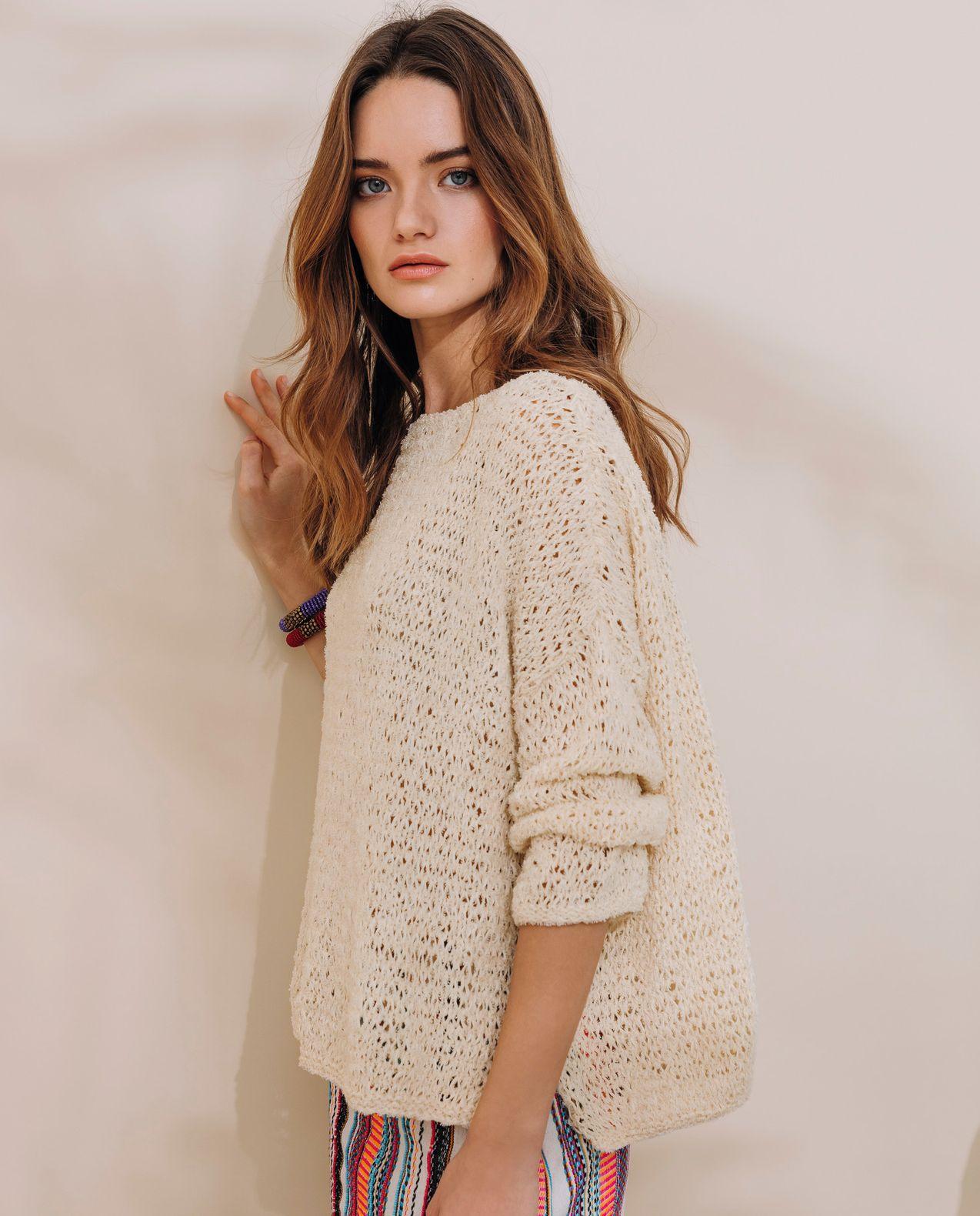 Tricoter pull femme