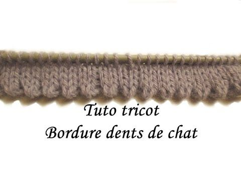 Tricot ourlet tubulaire
