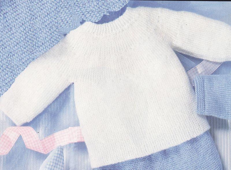 Modele tricot naissance facile